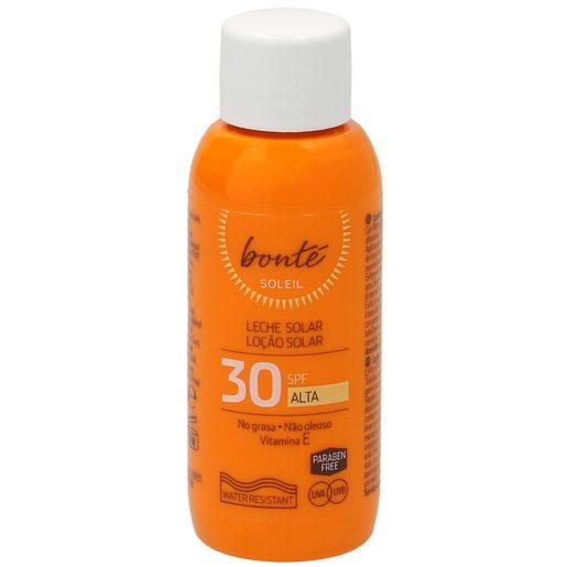 BONTE leche solar spf 30 formato viaje bote 50 ml