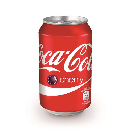 COCA COLA cherry lata 33 cl