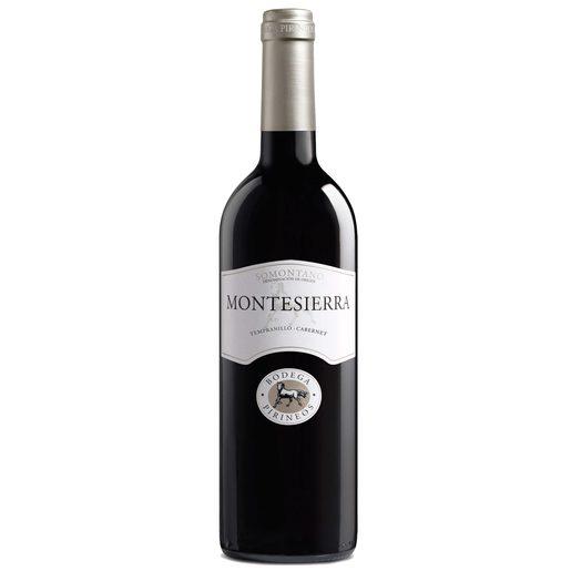 MONTESIERRA vino tinto Do Somontano botella 75 cl