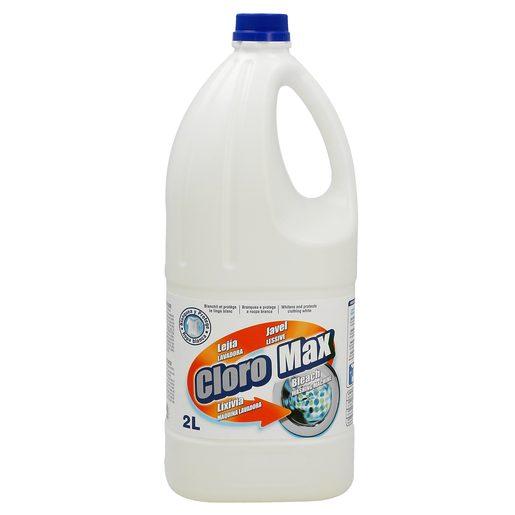 CLOROMAX lejía neutra botella 2 lt