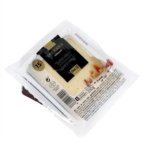 DIA DELICIOUS queso añejo mezcla cuña 250 gr