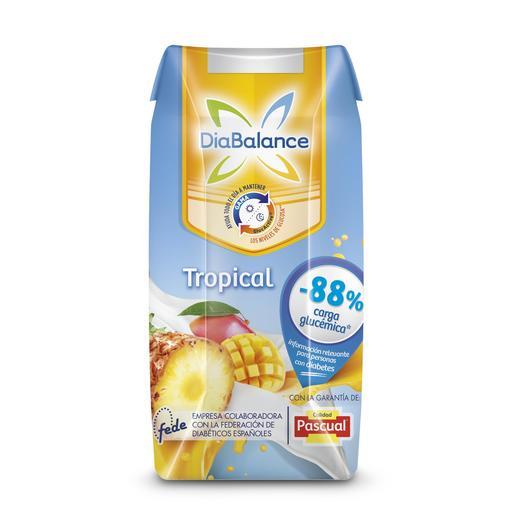 DIABALANCE PASCUAL zumo de leche tropical envase 330 ml
