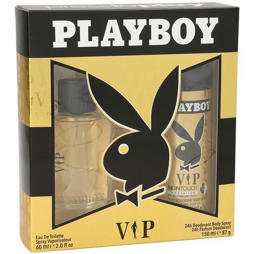 PLAYBOY pack vip colonia 60 ml + desodorante 150 ml