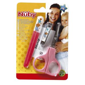NUBY juego para el cuidado de las uñas 1 ud