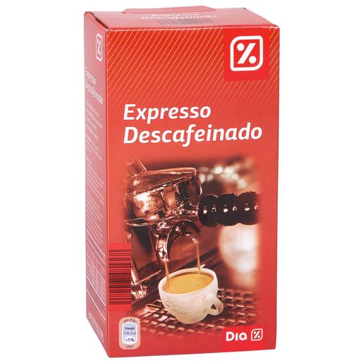 DIA café molido descafeinado expresso paquete 250 gr