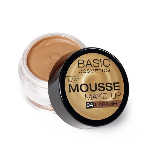 BASIC Mate Mousse base de maquillaje matificante 4 Caramel