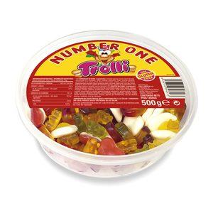 TROLLI gominolas mix brillo tarrina 500 gr