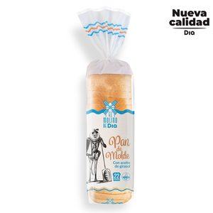 EL MOLINO DE DIA pan de molde blanco bolsa 600 gr