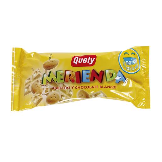 QUELY Merienda quelitas y chocolate blanco 60 gr