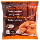 DIA croquetas de jamón ibérico bolsa 400 gr