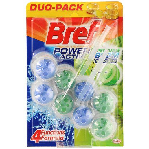BREF bloc wc natural colgador poder activo blíster 1 ud