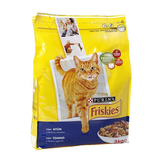 FRISKIES alimento para gatos salmon bolsa 3 kg