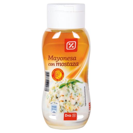 DIA mayonesa con mostaza bote 300 ml