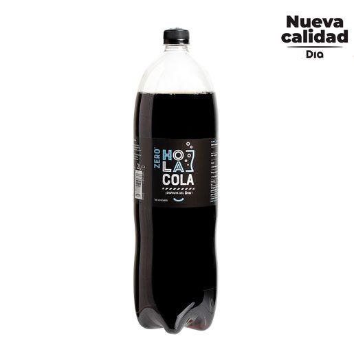 DIA HOLA COLA refresco de cola zero botella 2 lt