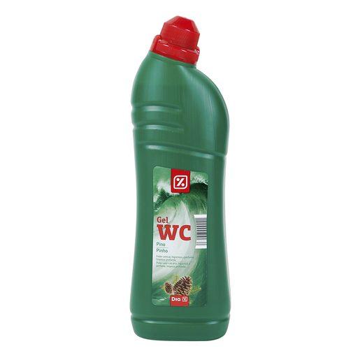 DIA gel limpiador wc verde aroma frescor de pino botella 1lt