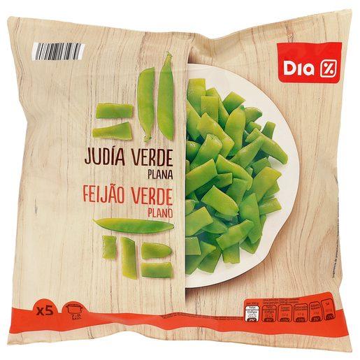 DIA judía verde plana bolsa 1 kg