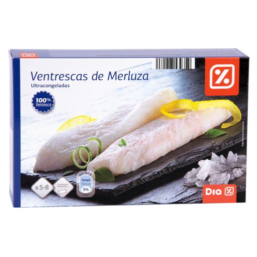 DIA ventrescas de merluza caja 400 gr