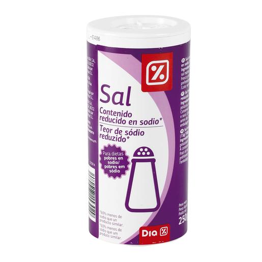 DIA sal contenido reducido en sodio frasco 250 gr
