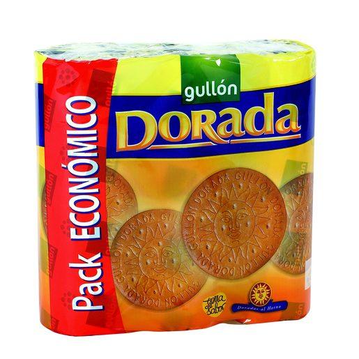GULLON galletas maría dorada paquete 3 uds