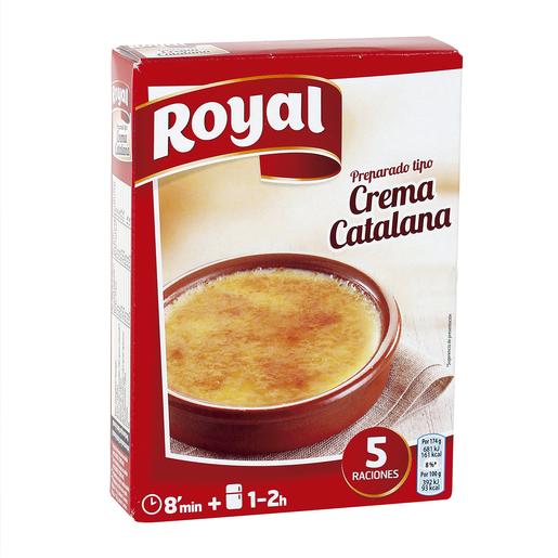 ROYAL preparado para crema catalana caja 120 gr