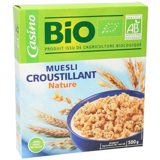 CASINO BIO cereales muesli caja 500 gr