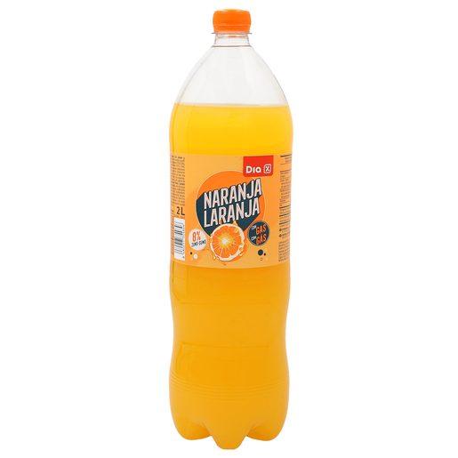 DIA refresco de naranja botella 2 lt