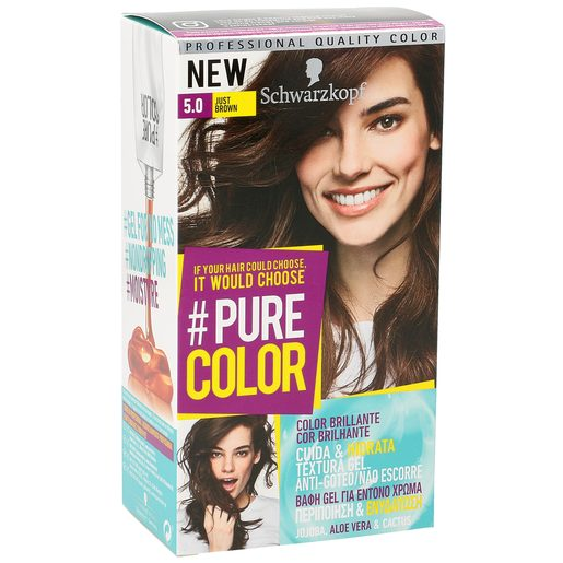 PURE COLOR tinte Just Brown Nº 5.0 caja 1 ud