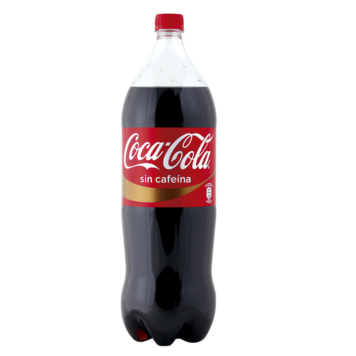 COCA COLA sin cafeína botella 2 lt