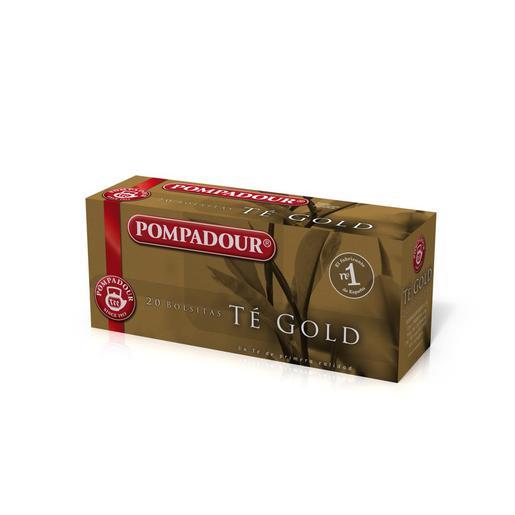 POMPADOUR té gold estuche 20 bolsitas