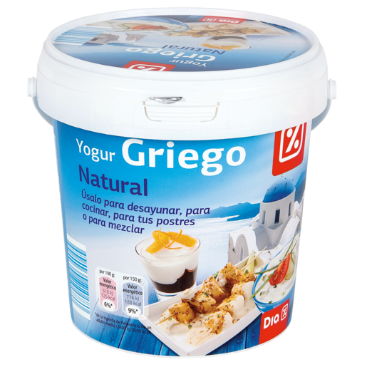 DIA yogur griego natural 1 Kg