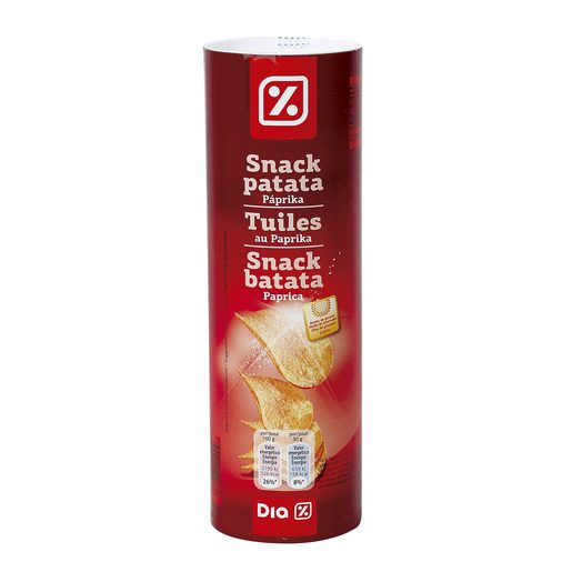 DIA snack patatas paprika tubo 150 gr
