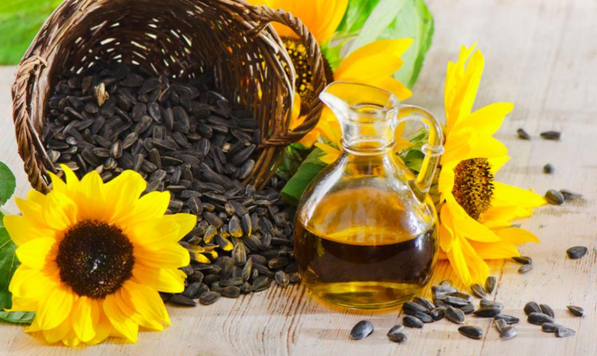 Aceite de girasol, aceite de maravilla