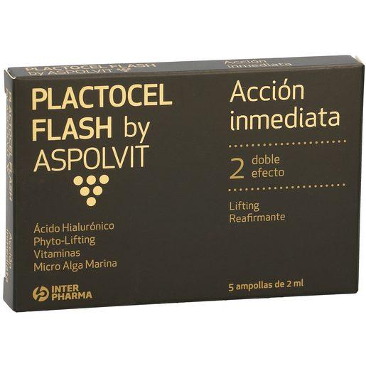 PLACTOGEL lifting reafirmante acción inmediata caja 5 ampollas