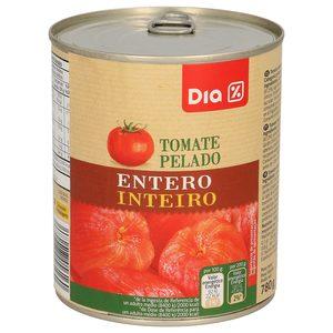DIA tomate entero pelado lata 480GR