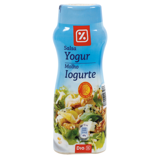 DIA salsa de yogur bote 300 ml