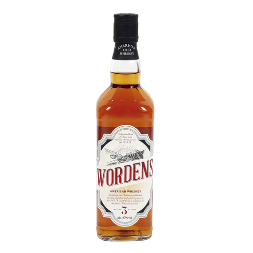 WORDENS whisky americano botella 70 cl