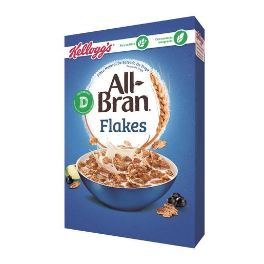 KELLOGS cereales all bran flakes caja 500 gr