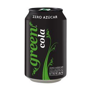 GREEN COLA con stevia lata 33 cl