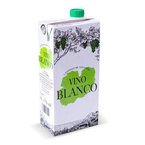 CASTILLO DE VELASCO vino blanco envase 1 lt