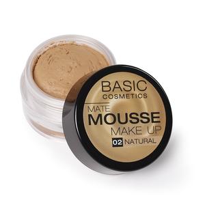 BASIC Mate Mousse base de maquillaje matificante 2 Natural