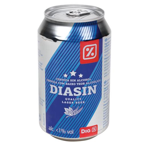 DIA cerveza sin alcohol lata 33 cl