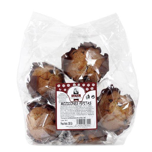 LUNA mojicones con pepitas de chocolate bolsa 360 gr
