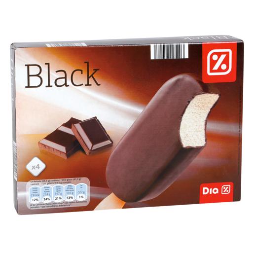 DIA helado bombón chocolate negro caja 4 uds 334 gr
