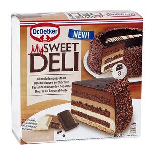 DR. OETKER My sweet deli pastel de mousse de chocolate caja 600 gr