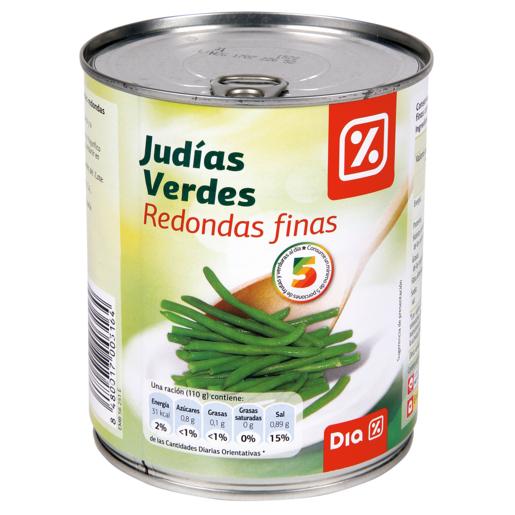 DIA judías verdes troceadas lata 455 gr
