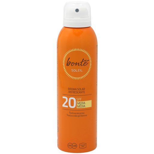 BONTE bruma solar refrescante protección media 20 spf spray 200 ml