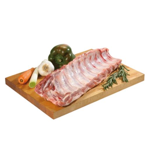 Tira de costillas de cerdo (peso aprox. 783 gr)