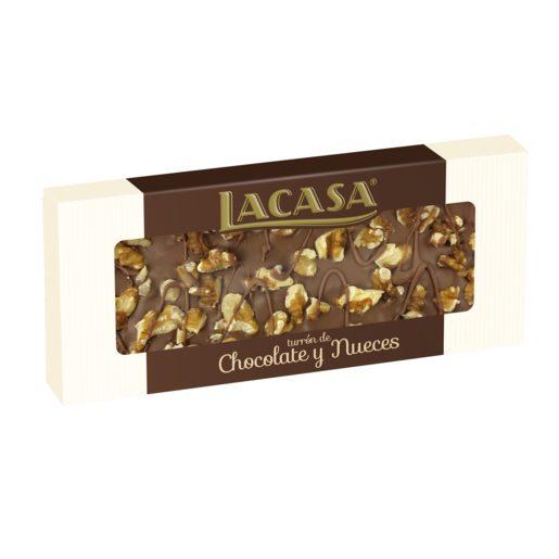 LACASA praliné chocolate con nueces estuche 250 gr