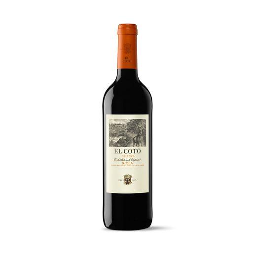 EL COTO vino tinto crianza DO Rioja botella 75 cl
