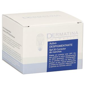 DERMATINA crema activo despigmentante spf 20 tarro 50 ml